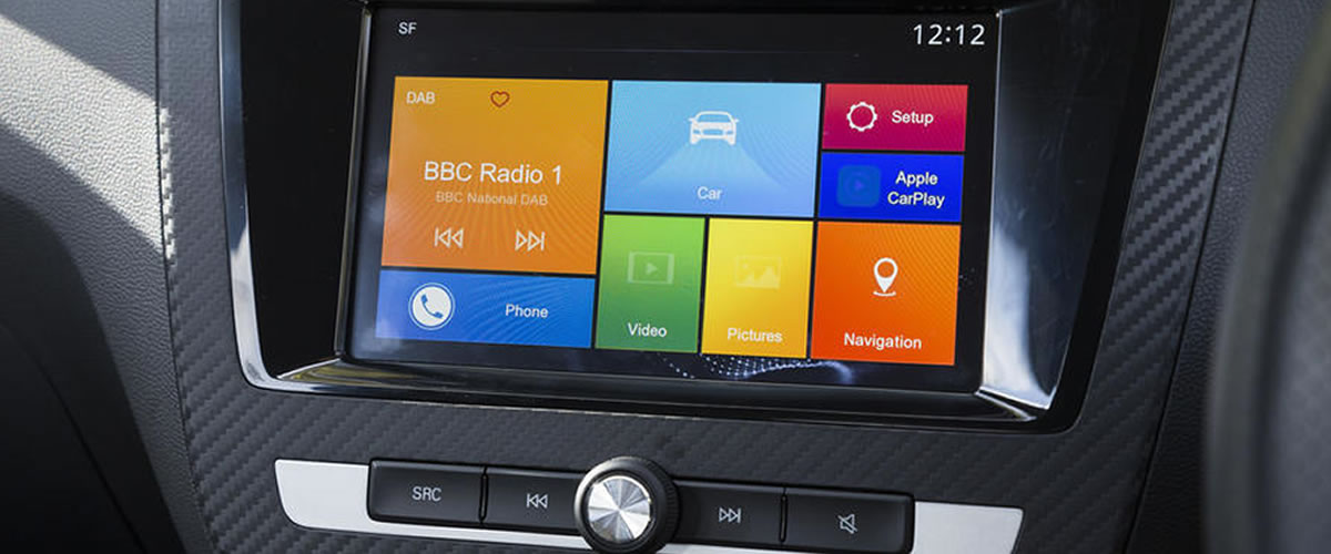 "8"" Entertainment system with Apple Car Play"
