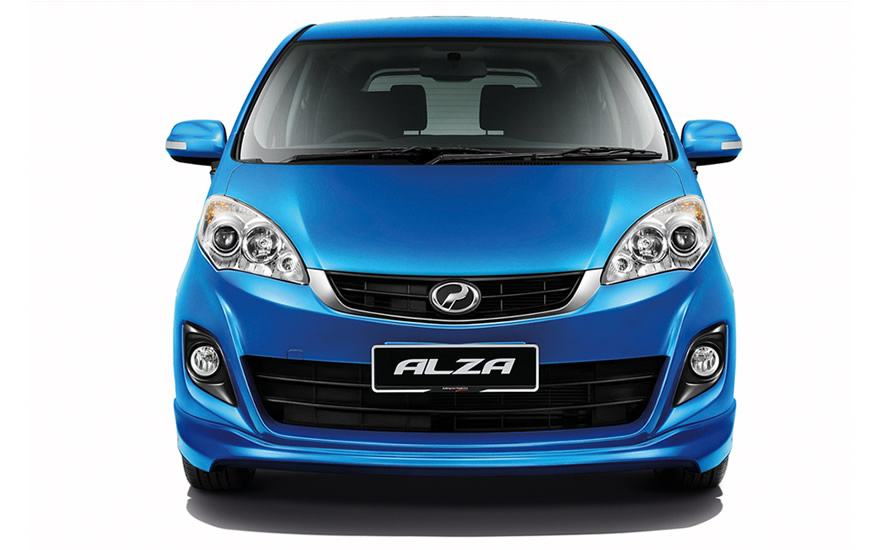 Alza S with new chrome grille and front fog lamps