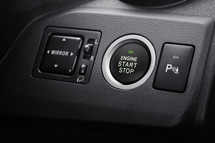 Push Start_Stop Button & (SE & AV)