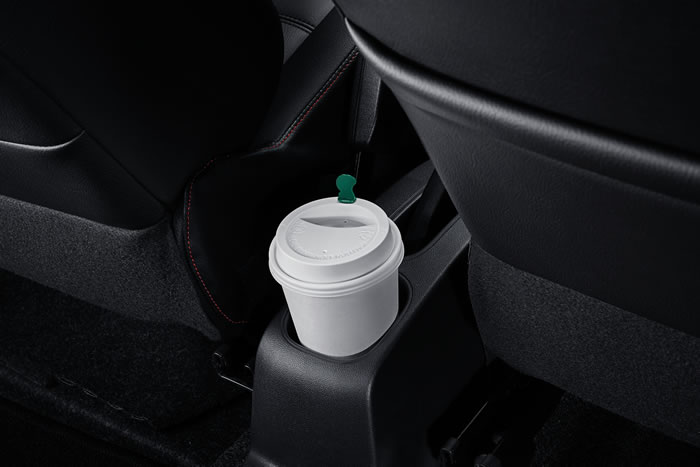 Rear Console Cup Holder