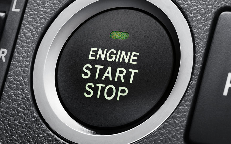 Push Start Stop Button with front parking sensors ( SE variant only)